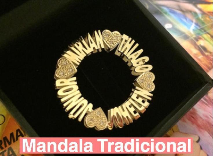 mandala 4 nomes com diamantes